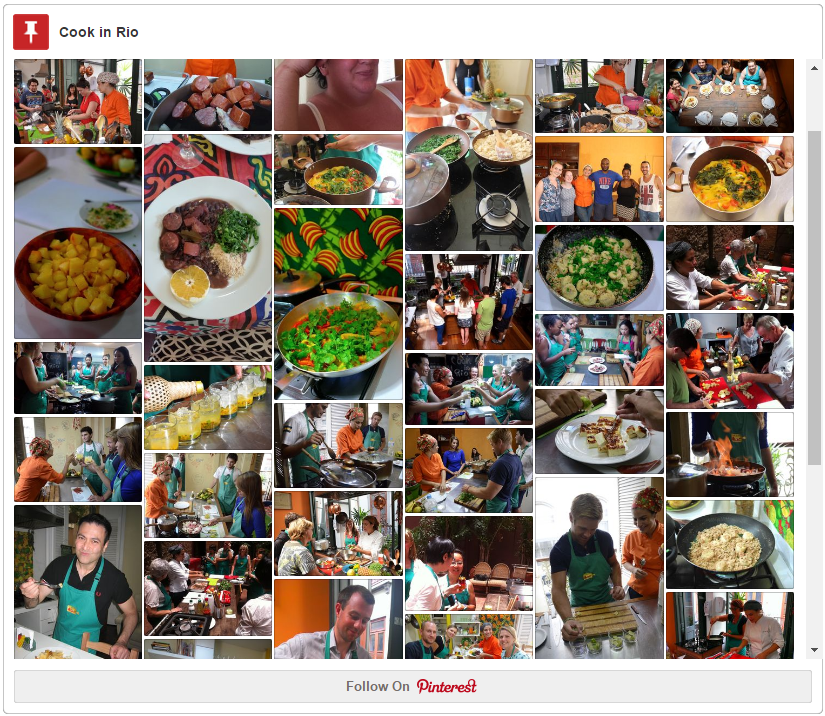 Pinterest cook in rio board