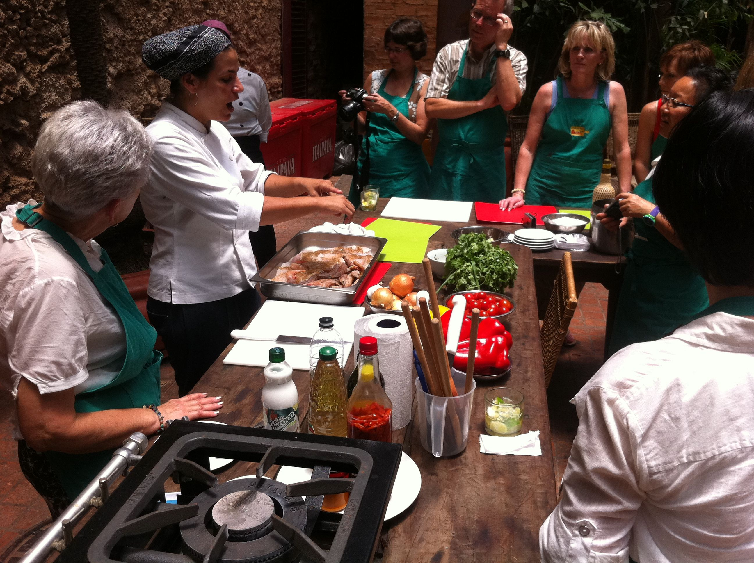 Cooking Class for over 7 pax in our Centro address